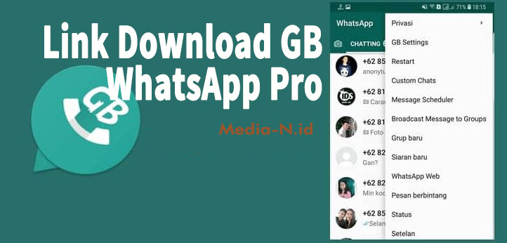 Link Download GB WhatsApp Pro
