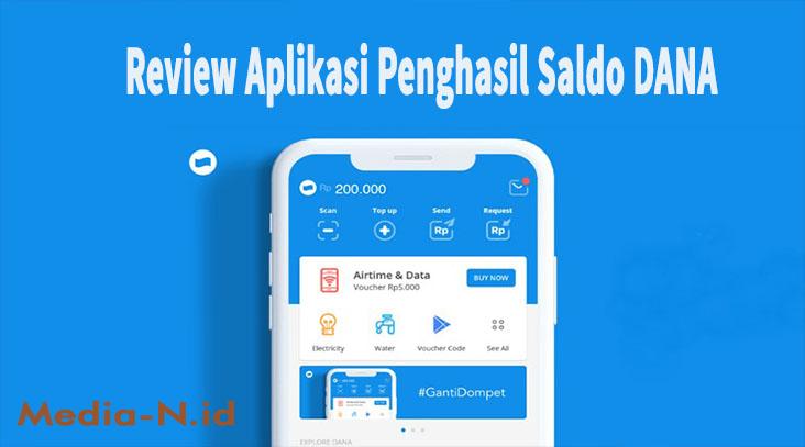 Review Aplikasi Penghasil Saldo DANA