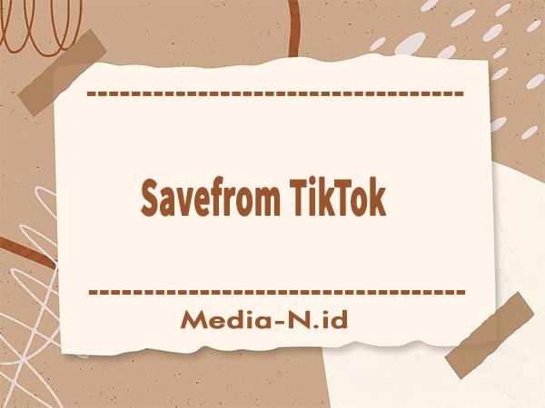 Savefrom TikTok